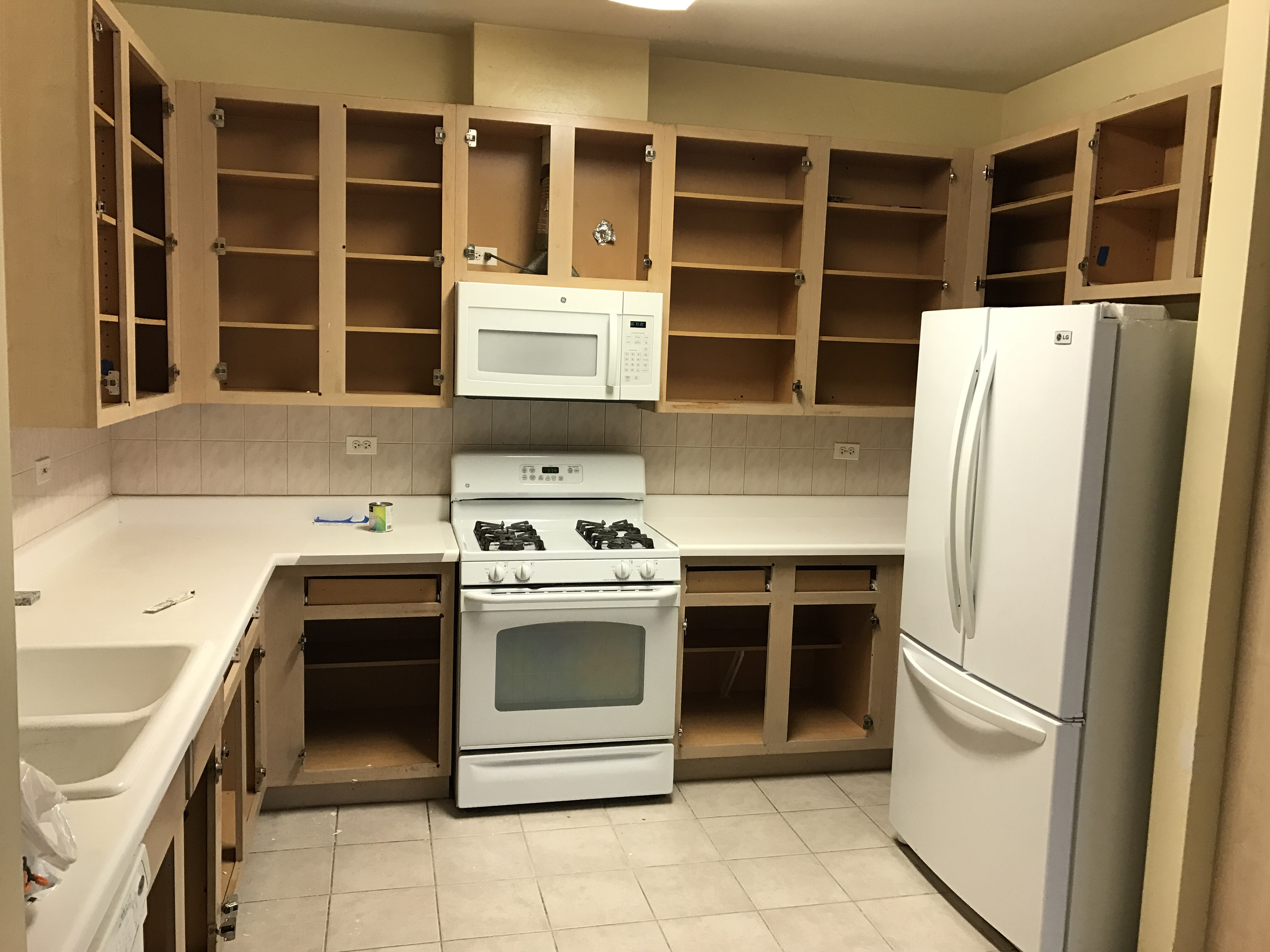 kitchen cabinet refinishing north shore painting restoration inc. Black Bedroom Furniture Sets. Home Design Ideas